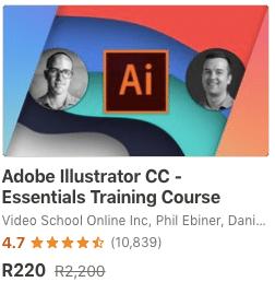Udemy Illustrator Course