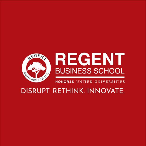 Regent Business School red banner